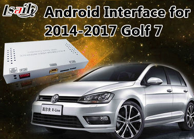 China Caja androide quad-core de la navegación + interfaz video para VW Golf 7 con Bluetooth incorporado, WIFI, BT proveedor