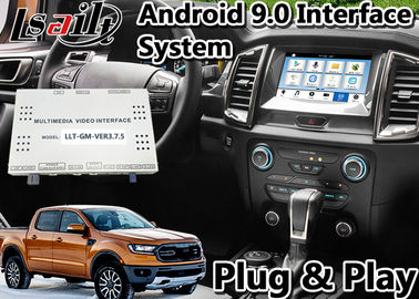 China Navegación auto de los Gps del interfaz de Android 9,0 para indicador digital Bluetooth OBD del sistema LVDS de la SINCRONIZACIÓN 3 del guardabosques/de Everest de Ford proveedor