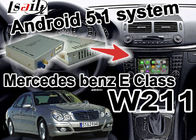 China Navi video youtube del wifi 3D de la caja del interfaz de la navegación de la clase del Benz W203 C de Mercedes fábrica