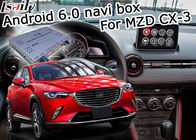 China Waze video youtube de Google del control del botón de Android 6,0 Mazda del interfaz de la navegación de Mazda CX-3 fábrica