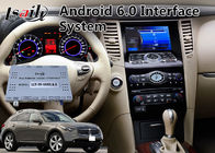 Interfaz video del auto de Android 9,0 por 2008-2012 el año Infiniti FX37/FX50 Mirrorlink