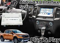 Navegación auto de los Gps del interfaz de Android 9,0 para indicador digital Bluetooth OBD del sistema LVDS de la SINCRONIZACIÓN 3 del guardabosques/de Everest de Ford