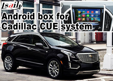 China Interfaz video de la caja de la navegación de GPS Android para el vídeo de Cadillac XT5 distribuidor