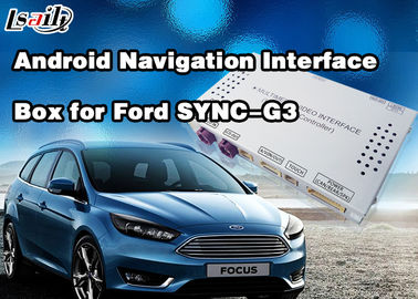China Sistema de interfaz auto de Android de la navegación GPS para la SINCRONIZACIÓN de 2016 Ford - G3 con Google Play distribuidor