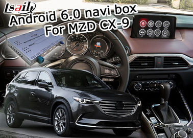 China Caja video del interfaz de la navegación de Android 6,0 para la fuente de corriente continua de Mazda CX-9 12V distribuidor