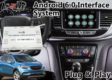 Interfaz video de la navegación de Android 6,0 para Opel Mokka/el sistema 2014-2018 de Intellilink de Crossland X/insignias