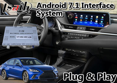 China 32GB interfaz video Android 9,0 de la ROM Lexus para el control 2019-2020 del panel táctil ES350 fábrica